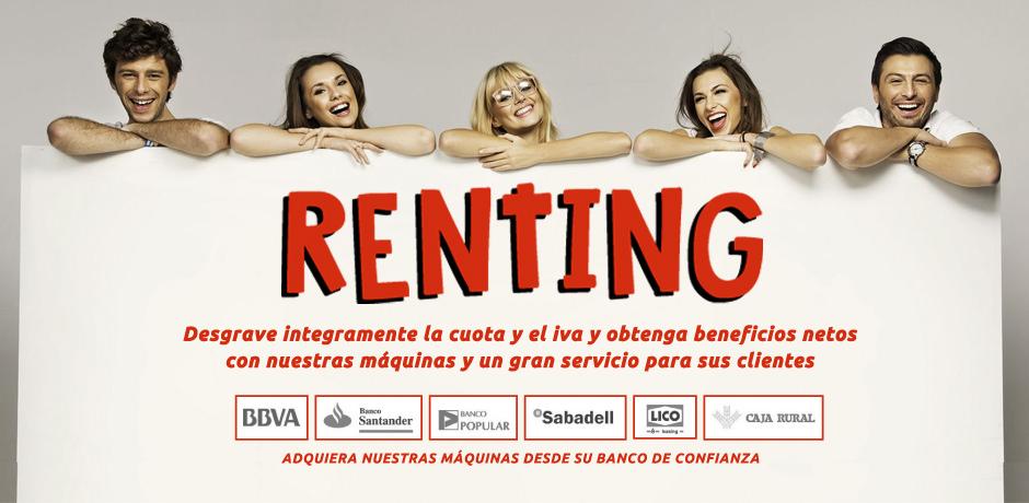 Renting Venta Automática