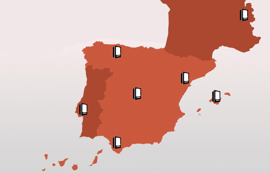 Mapa de Delegaciones