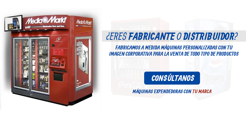 Máquinas Personalizadas con Marca y Logo