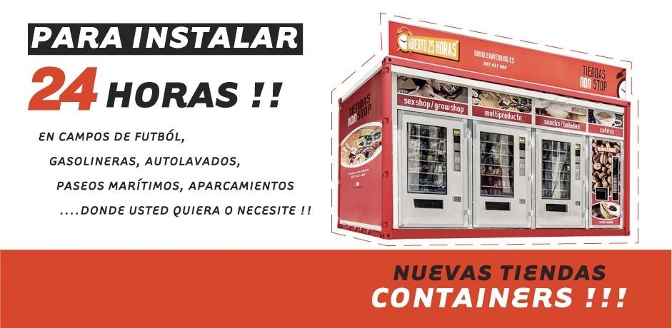 Máquinas Vending Contenedores