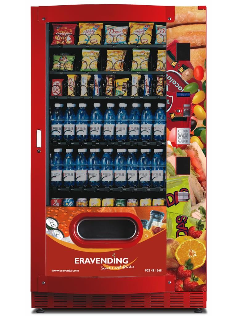 Expendedora snacks y bebidas sf panzer maxi tiendas - Maquinas expendedoras de alimentos y bebidas ...